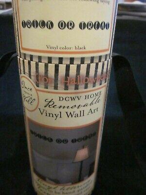 ONCE UPON A TIME FOR HALLOWEEN VINYL LETTERING REMOVABLE VINYL WALL ART BRAND NE (Halloween Vinyl Lettering)