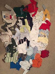 Baby boy NB - 3 months clothing lot