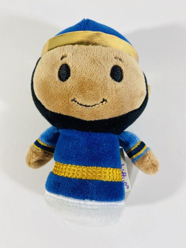 "Hallmark Itty Bittys Christmas Wise Man Men Nativity Toys Plush Stuffed  5"""