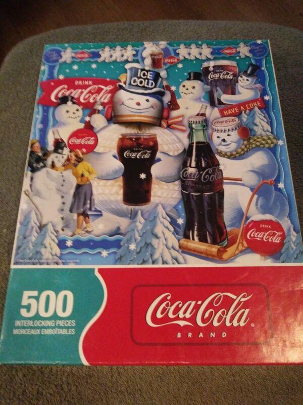 Coca-Cola 500 Piece Puzzle