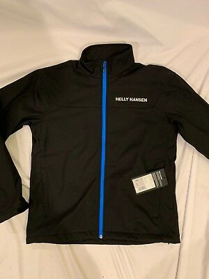 Helly Hansen Mens Softshell Slim Jacket NWT Size Medium Black