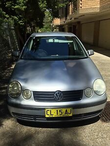 2002 VW POLO. Nearest offer to $4000. Westmead Parramatta Area Preview