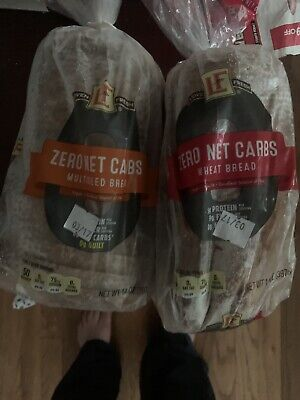 Two Loaves - L'Oven Fresh Aldi Zero Net Carb Wheat Bread Keto Diet -