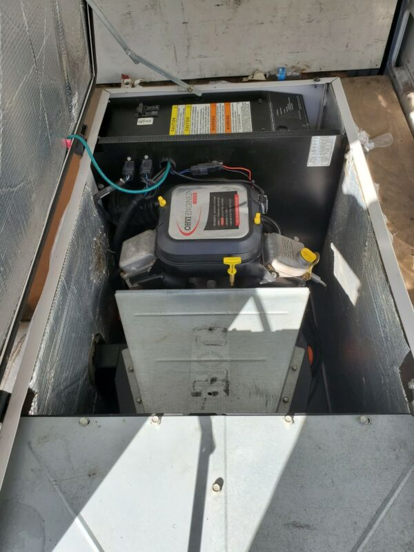 Generac 240V Gas-Powered Generator its 16 kw gas or LPG quiet backup or ice cre