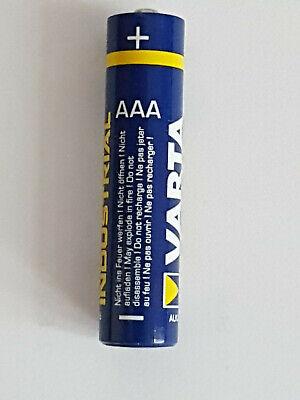 Varta Alkaline Micro Industriebatterie AAA LR03  Industrie Alkaline-batterien