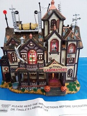 Lemax Spookytown Dr. Tingle's Laboratory
