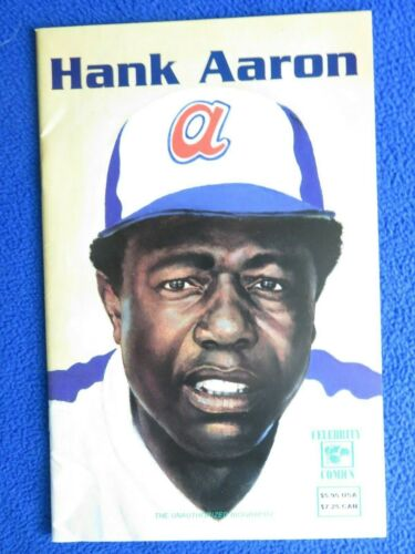 HANK AARON #1  CELEBRITY COMICS  1992