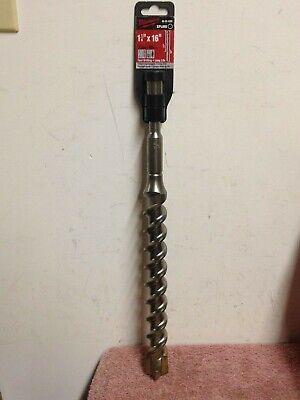 Genuine Oem Milwaukee 48-20-4395 Spline Bit 4-cutter 1 14 In. X 11 In. X 16 In.