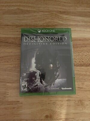 Dishonored Definitive Edition Microsoft Xbox One Game 2015 Bethesda New Sealed