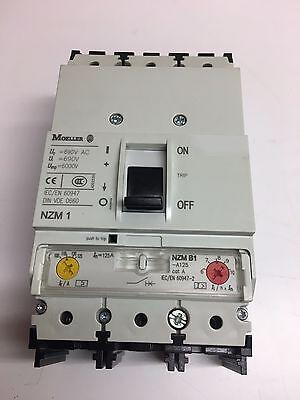 Moeller Nzm-b1-a125 Clean Slightly Used