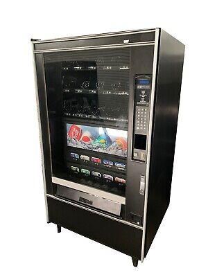 Crane National 497 Combo Vending Machine Snack Beverage Free Shipping