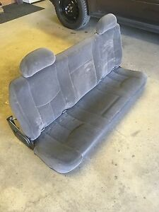 99-06 Chevy gmc rear seat