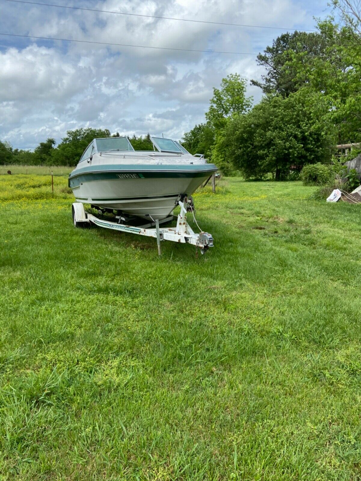 1988 Sea Ray Seville 20' PROJECT