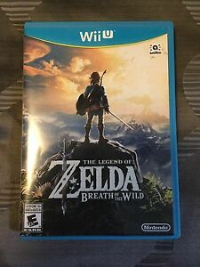 Legend of Zelda Breath of the Wild for Nintendo Wii U