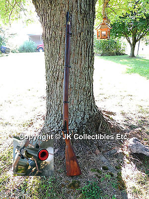 Replica Civil War Enfield 3 Band Percussion Rifle Musket Prop Gun CSA Reenactor