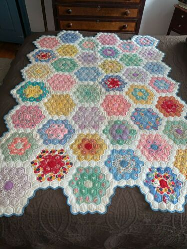 Beautiful Hand Pieced Hand Quilted Grandmother