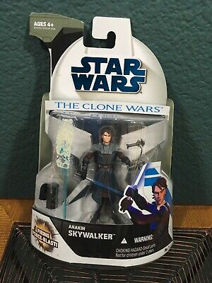 R2-D2 Anakin Skywalker 2009 STAR WARS Clone Wars 2 Pack Firing Force Blast RARE