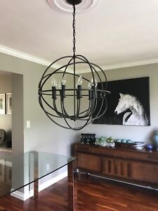 Gorgeous Modern Dining Room Chandelier