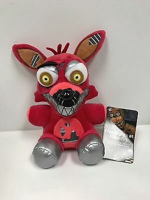 Fnaf Five Nights At Freddys Nightmare Foxy Plush Series 2 New