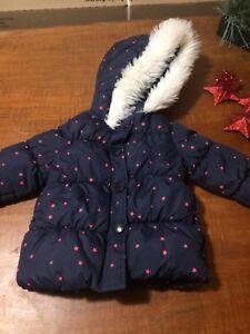 Baby girl outwear winter coats jackets snow pants snowsuit