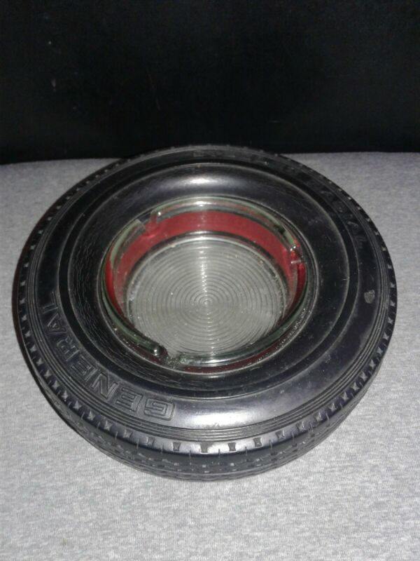 Vintage Tire Ashtray