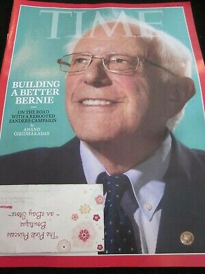TIME MAGAZINE JUNE 17 2019 BUILDING A BETTER BERNIE ON THE COARD WITH SANDERS