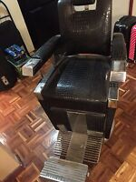 Barber chair old style
