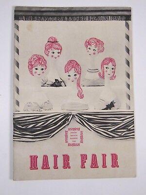 Hair Fair Seventeen Magazine Reader Service Booklet 1959-Hair Styles 1950s