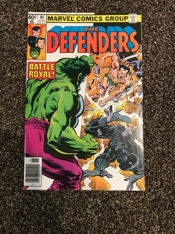 The Defenders 84 First Black Panther Vs Namor