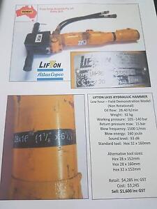 Lifton Atlas Copco Hydraulic Impact Breaker Alice Springs Alice Springs Area Preview