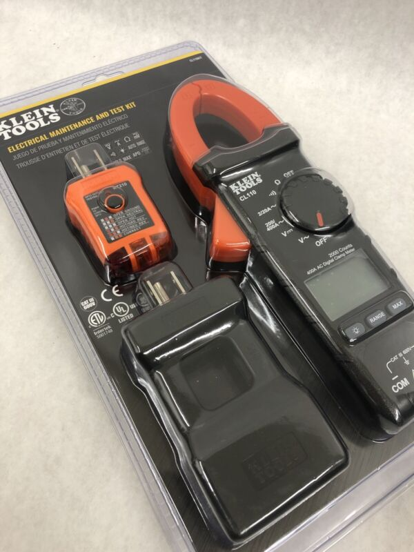 BRAND NEW - KLEIN TOOLS MULTIMETER CL110KIT ELECTRICAL MAINTENANCE AND TEST KIT