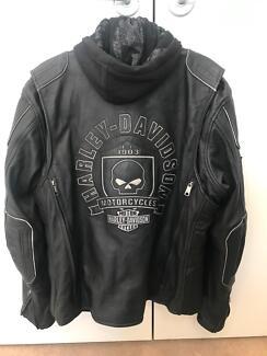 Harley Davidson Auroral 3-in-1 leather jacket Large