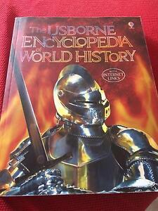 The usborne encyclopedia of world history Balwyn Boroondara Area Preview