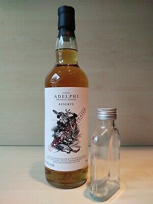 Adelphi Private Stock Blended Malt Scotch Whisky, Sample, Probe 10cl/100ml