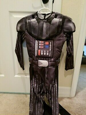 Rubie's Star Wars Darth Vader Child Costume With Cape and Gloves - Medium