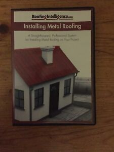 Metal Roofing Installation DVD