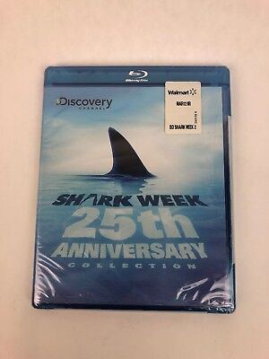 Shark Week: 25th Anniversary Collection Blu-ray ,Best of,  Discovery Channel
