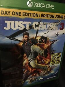 Just cause 3 for Xbox one  mint condition