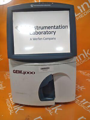 Instrumentation Laboratory Company Gem Premier 4000 Blood Gas Analyzer