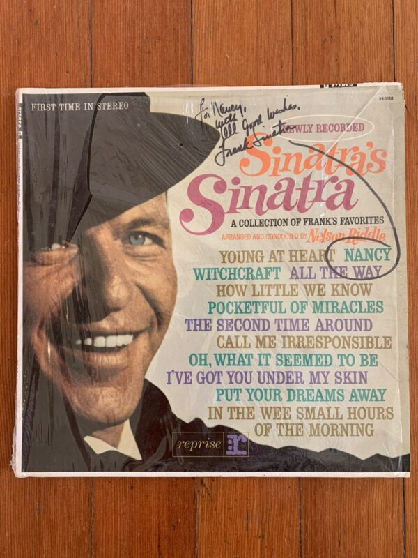 Frank Sinatra Autographed Album