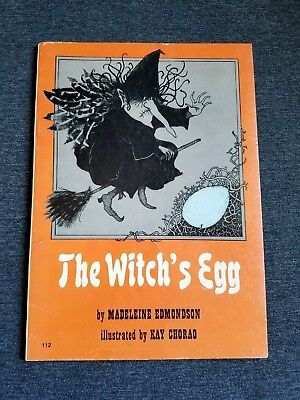 Halloween Ghost Eggs (The Witch's Egg by Madeleine Edmondson - Kay Chorao (1977) Halloween)