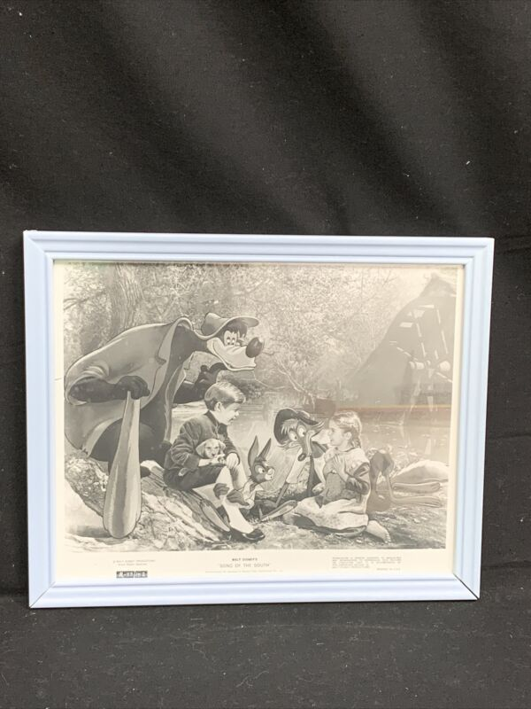 VTG Disney Black and White Song of The South Print
