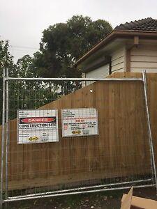 Temp fencing gates building renovation x8 Pascoe Vale Moreland Area Preview