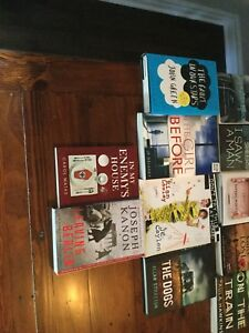Various fiction and non fiction books