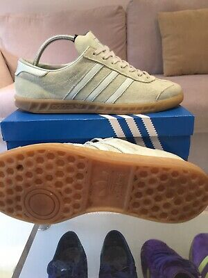 Adidas Originals Hamburg Trainers - Size UK 8.5