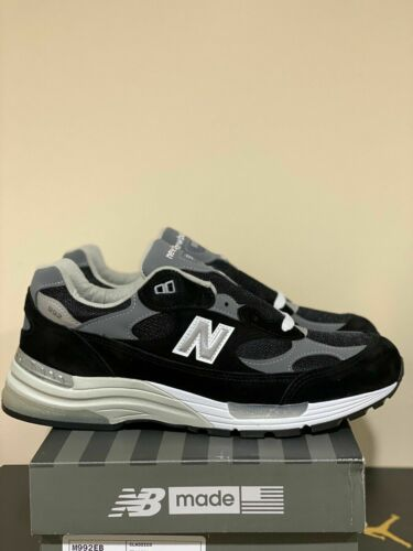 New Balance 992v1 Black Grey M992EB Sizes 7.5-13 BRAND NEW