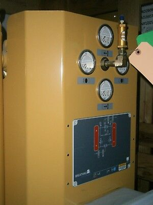 Kaeser Breathing Air System With Monitor - Mounted