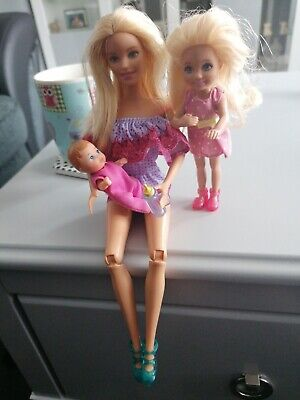 Barbie Doll 2013 With Chelsea And Baby