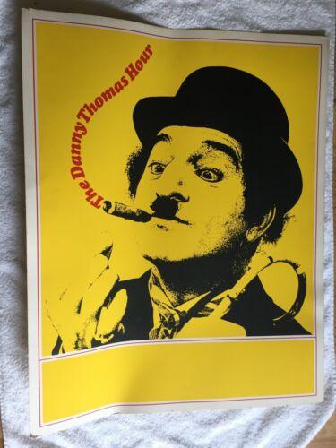 "Rare ""Danny Thomas Hour"" poster NBC promotional 1967 beautiful 22x28"" TV show"