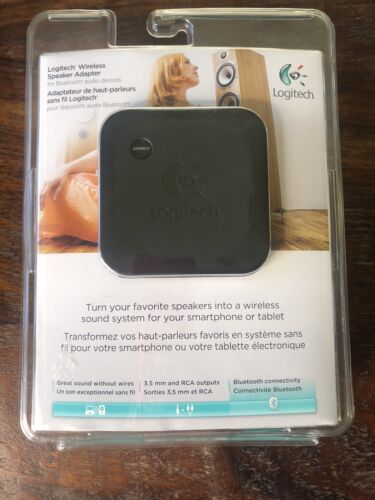Logitech Wireless Speaker Adapter for Bluetooth Audio Device
